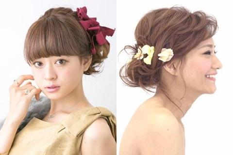 最新のヘアスタイル 結婚式 二次会 髪型 簡単  女性・OLに役立つ情報