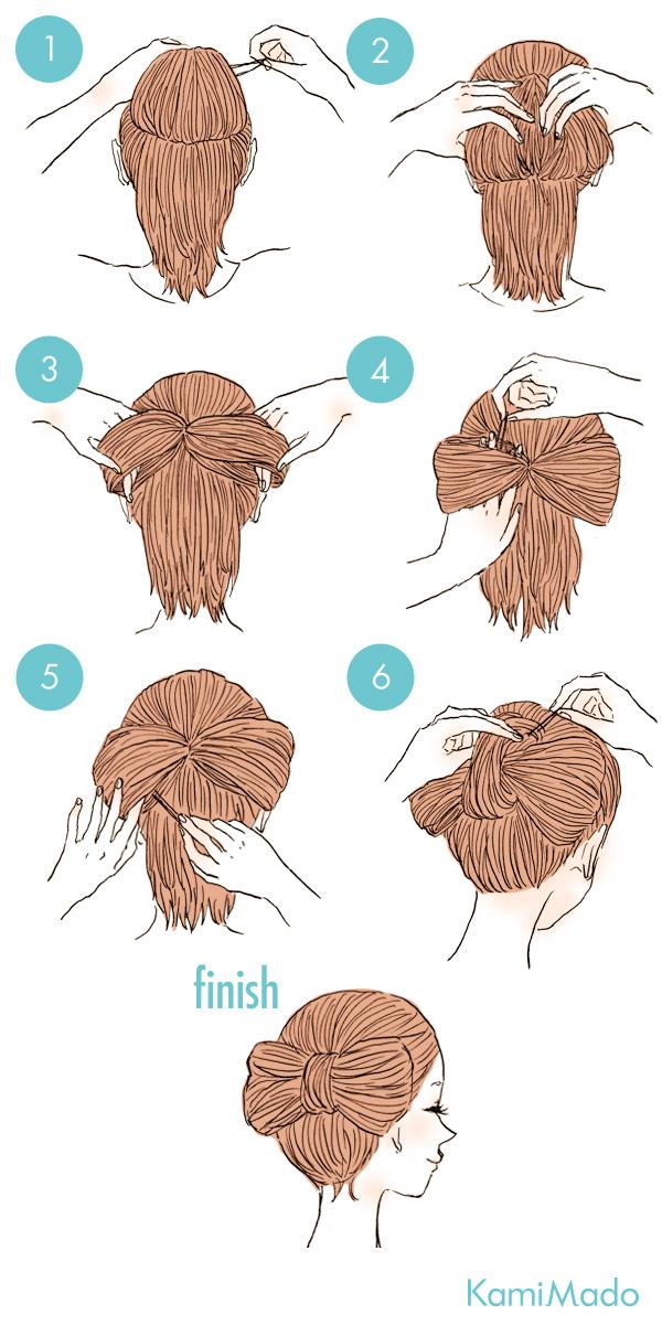 髪型 可愛い 簡単 な