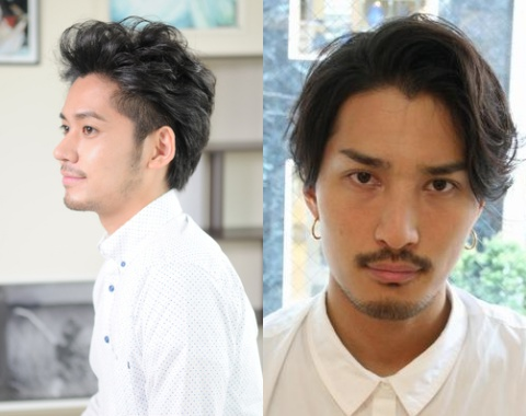 40代男性の大人ワイルドなヘアスタイル☆