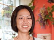 花屋&カフェ ラ・プティフルール オーナー 今村奈美子さん(37歳)