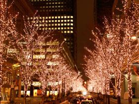 ひと足早く、クリスマス気分♪ 「丸の内イルミネーション2012」がスタート