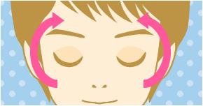 『頬に直接アプローチ! 健康的な顔色に一気にチェンジ』