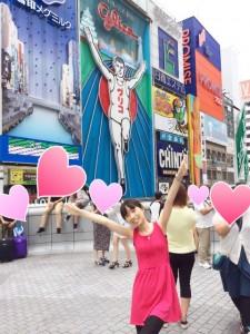 道頓堀で大阪を満喫!