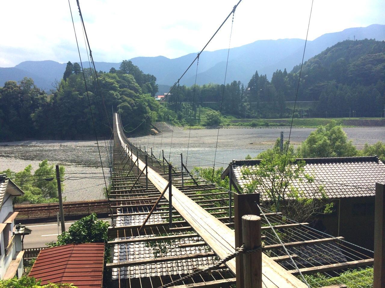 スリル満点☆空中散歩が出来る吊り橋とオシャレカフェ♡in静岡