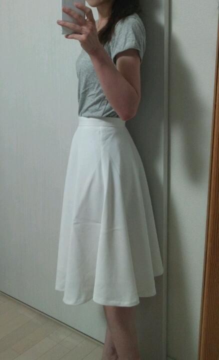 GUでゲットした1490円スカート♪