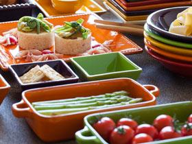 日本未輸入ワインとイタリアのカラフルな食器「ママロー」で楽しむ秋祭り