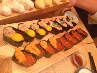 ◆ お寿司食べ放題 ◆