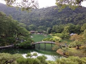 都会の喧噪から離れてリフレッシュ@栗林公園☆香川旅行記1