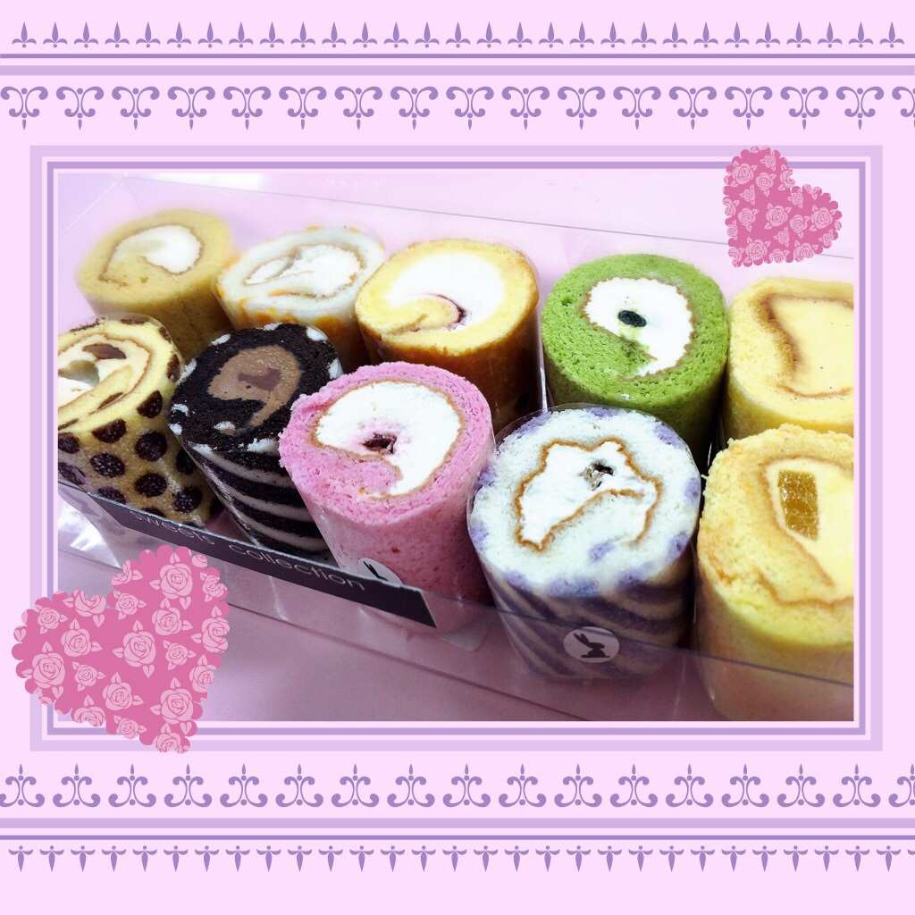 めちゃくちゃ可愛い!ポップでキュートなirinaのミニロールケーキ☆