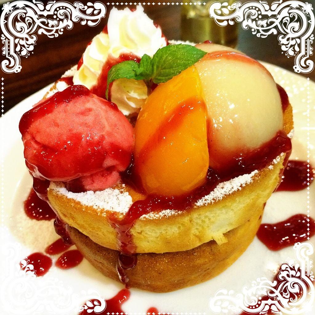 ふわっふわスフレのパンケーキ&ドリアで至福のひとときを@星乃珈琲店☆