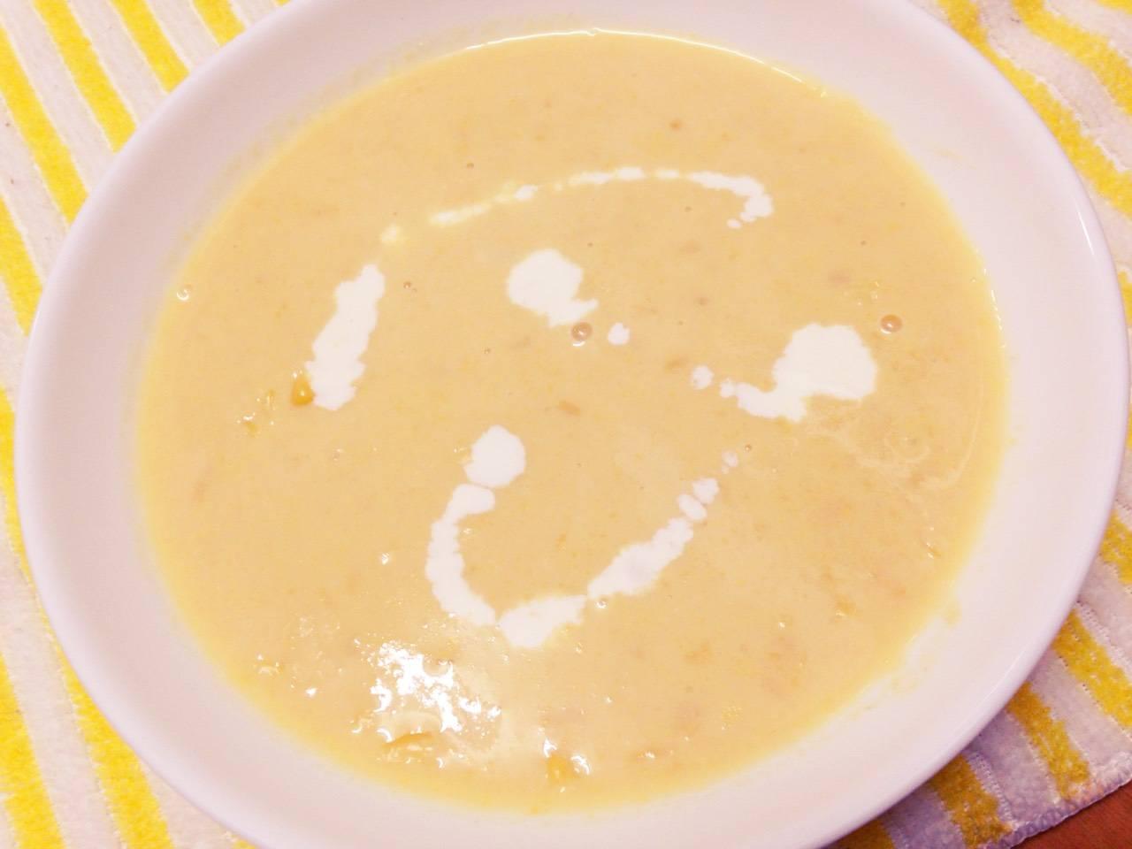 炊飯器deオムライス♪&豆乳deコーンスープ