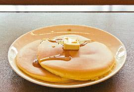 銀座ウエストのホットケーキ