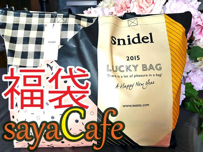 【福袋】スナイデルの福袋2015の中身を大公開!(ネタバレ)