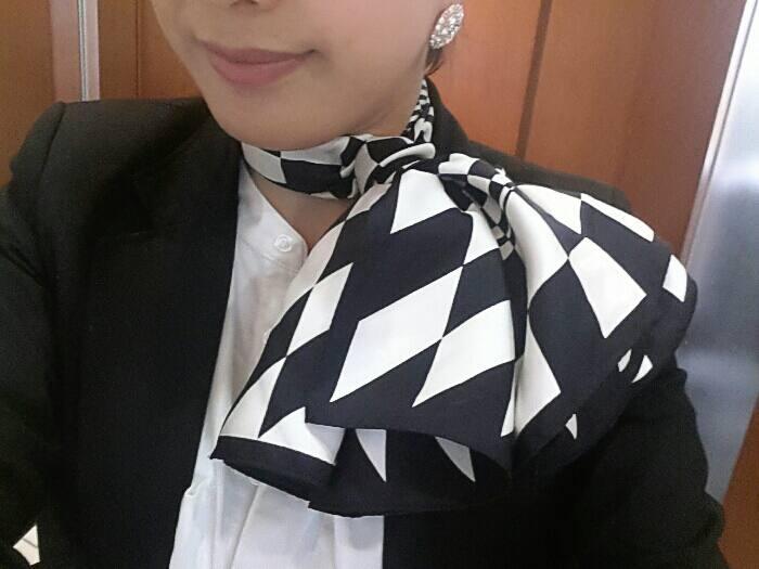 スカーフアレンジ☆
