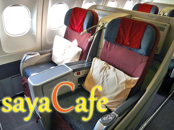 【バリ旅】日本より凄いビジネスクラス?!★ガルーダインドネシア航空