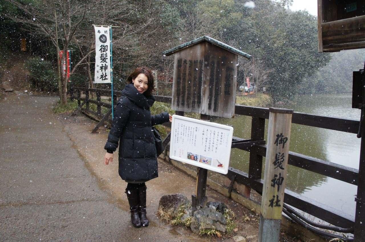【パワースポット】髪で悩んでる方必見!日本で唯一の髪の神社 京都嵯峨