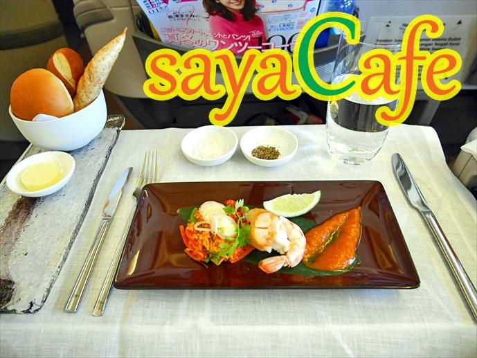 【バリ旅】ビジネスクラスの食事が凄すぎる!!★ガルーダインドネシア航空