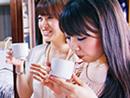 女子もキリリと日本酒で