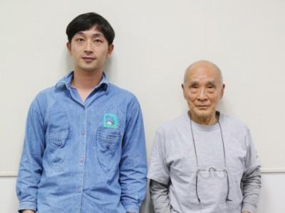 谷川俊太郎さんと川島小鳥さんにインタビュー