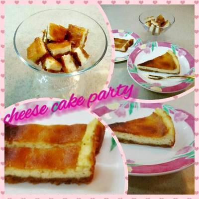美味♡NYスタイル☆手作りチーズケーキ