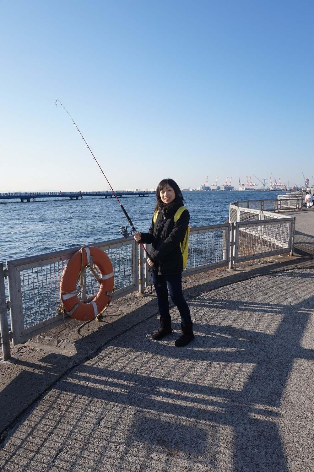 朝釣りして中華街で朝ごはん!みなとみらいで超アクティブな朝活!