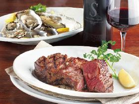 熟成肉と牡蠣のぜいたくコンビを! 「肉と牡蠣 市場」