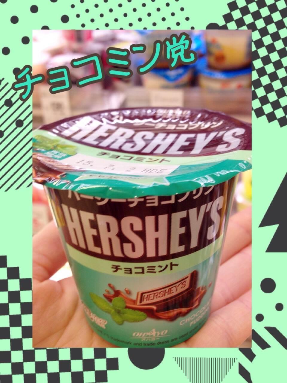 チョコミン党必見!コンビニで買えるチョコミントプリン♡