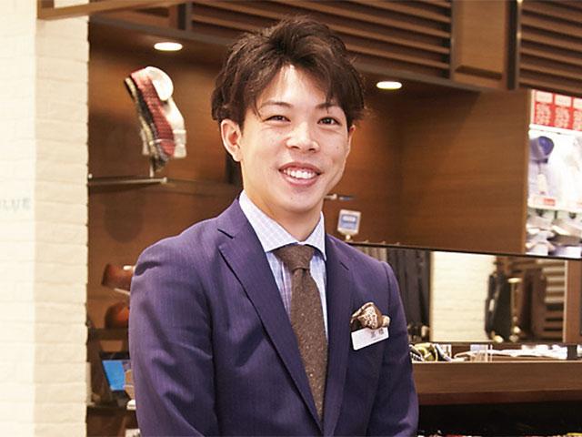 【vol.33】NEXT BLUE /京橋京阪モール店 マネージャー 高橋拓也さん