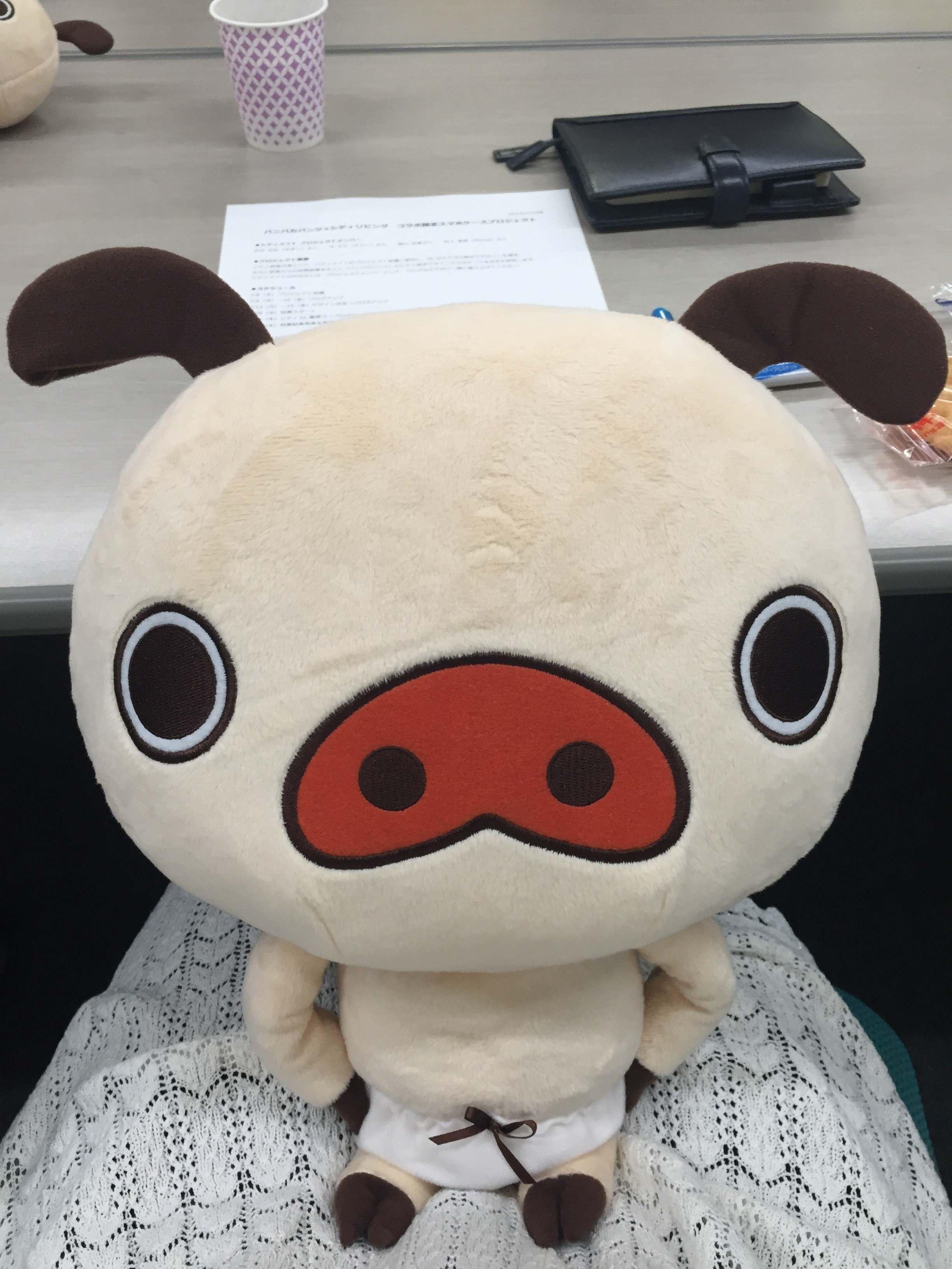 パンパカパンツ×シティリビングコラボ企画!スマホケース作ろ〜☆