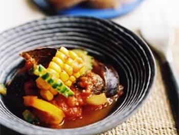 夏野菜のスパイスラタトゥイユ
