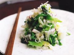 冬野菜のみぞれ和えサラダ