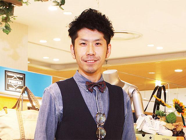 【vol.35】 なんばマルイ 5階カジュアルバッグ リーダー 桑原健太郎さん