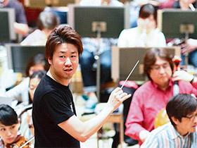 神奈川フィルハーモニー管弦楽団 常任指揮者 川瀬賢太郎さん(30歳)