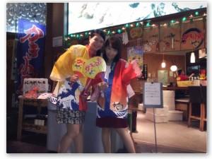【夏休み愛色日記 4】シティメイト撮影 横浜コレットマーレ かき小屋レポ