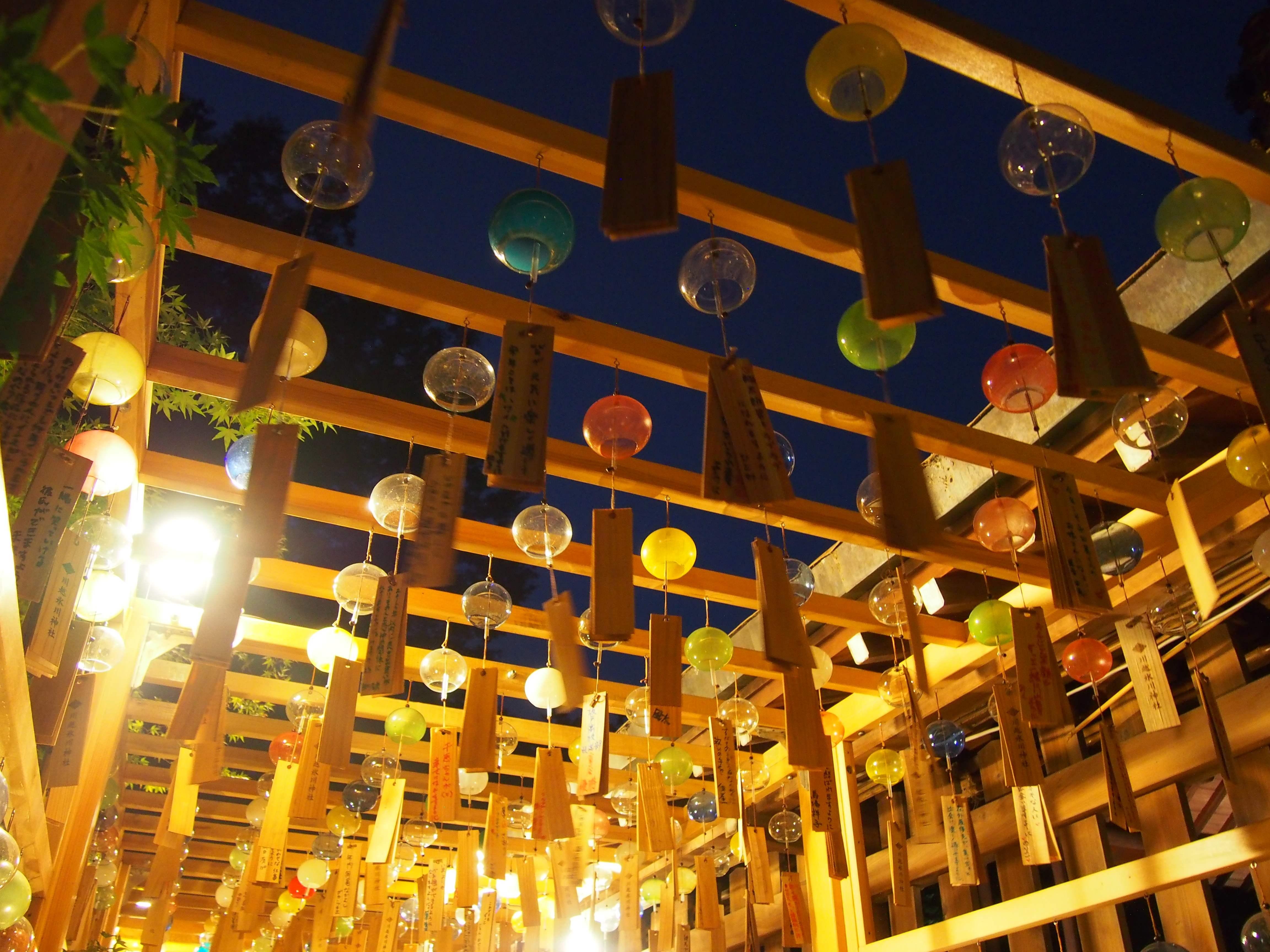 【川越】浴衣レンタルで幻想的な風鈴祭りへ