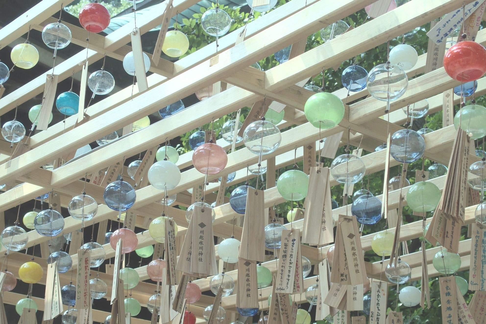 ☆【夏休み②】川越氷川神社の縁結び風鈴(8月31日まで!)☆