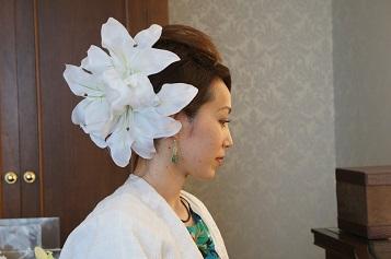 【椿山荘WEDDING】5000円で造花つけ放題♪ヌーベルマリエマサコ
