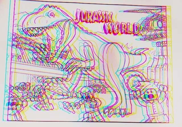 【映画館】話題のジュラシックワールド4DXで見たよ。ラプトルが可愛い!