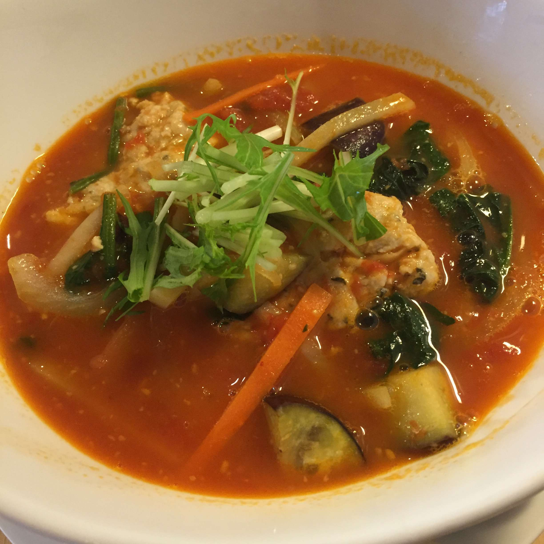 【ラーメン道その9】トマト麺 Vegie(ベジィ)@白石区
