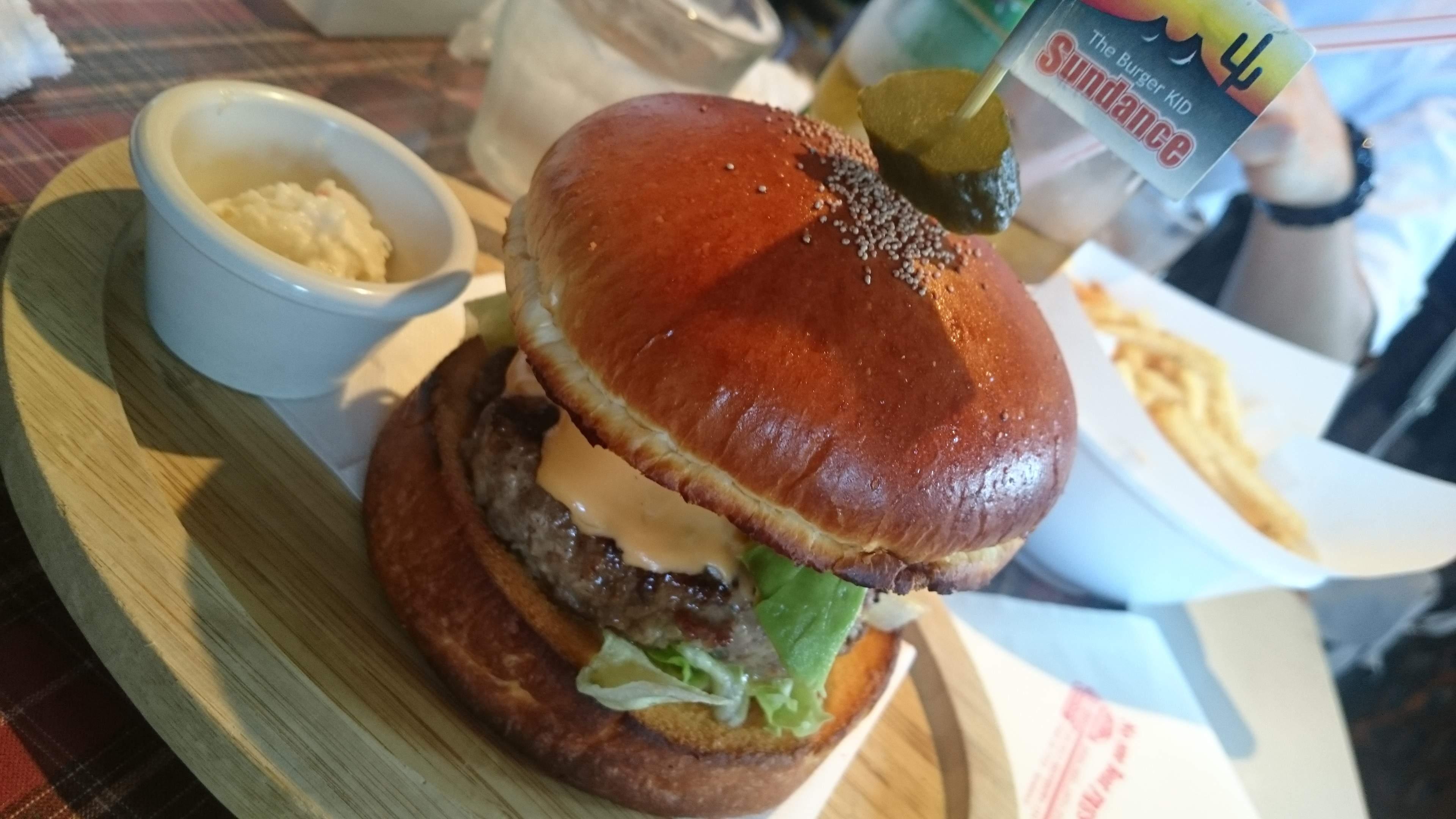 ビックなハンバーガー(о´∀`о)