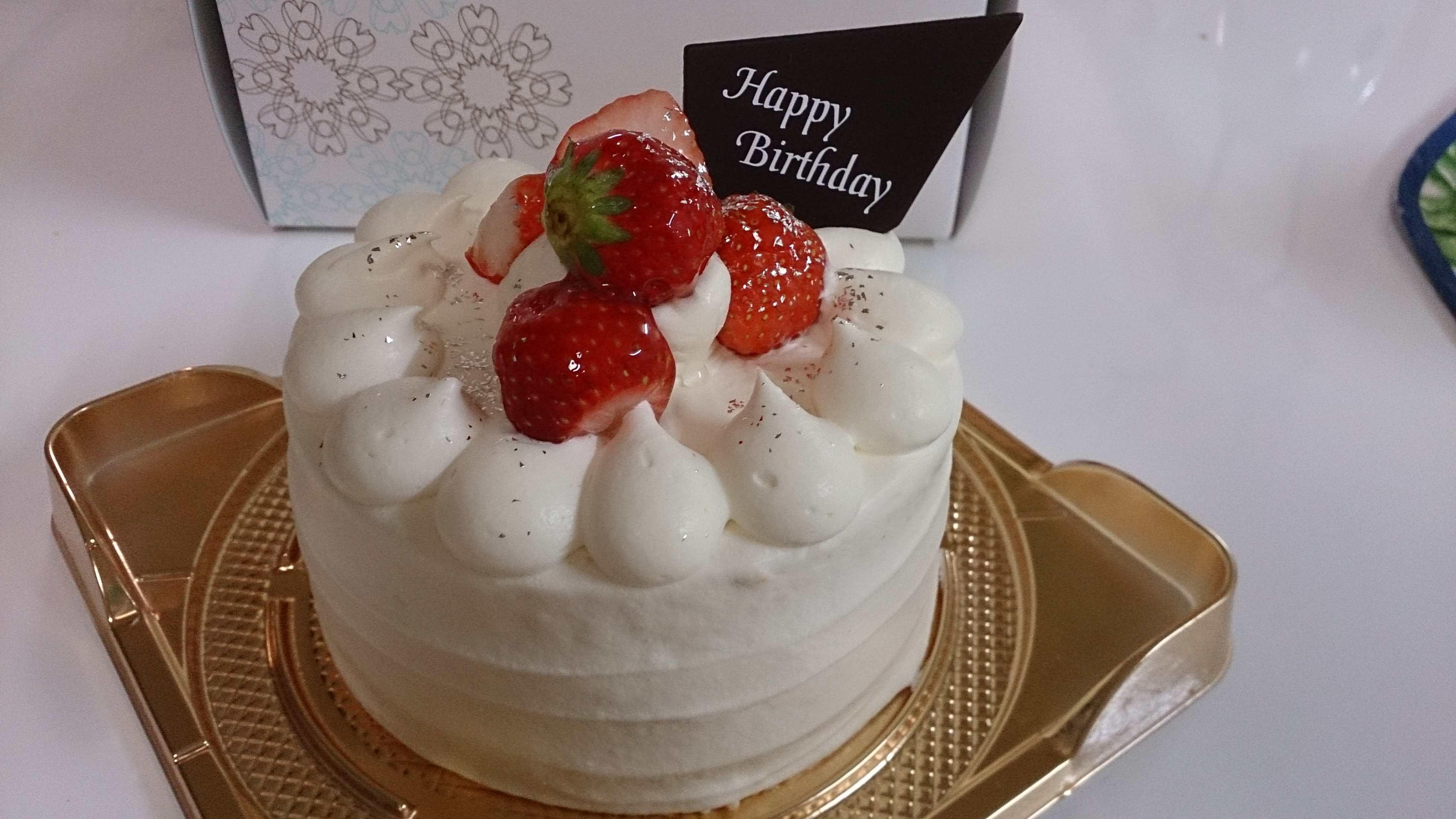 一年に一度のとっておき☆            バースデーケーキ