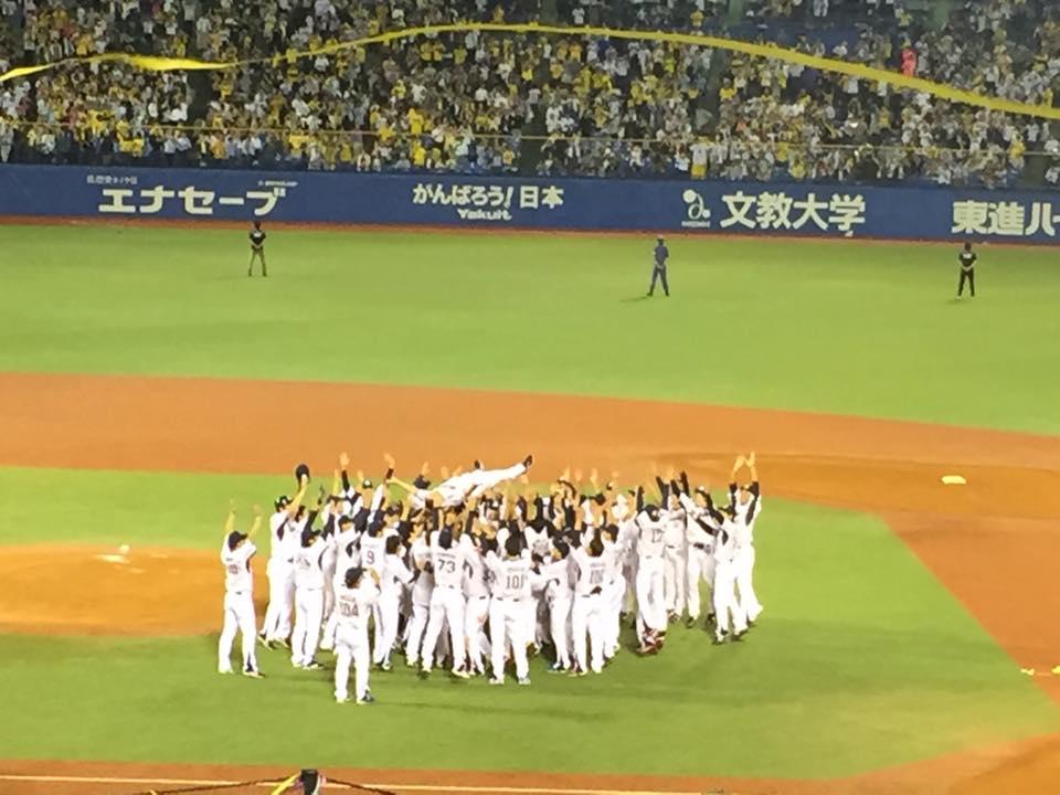 リーグ優勝おめでとう!ヤクルトスワローズ!野球観戦のススメ!