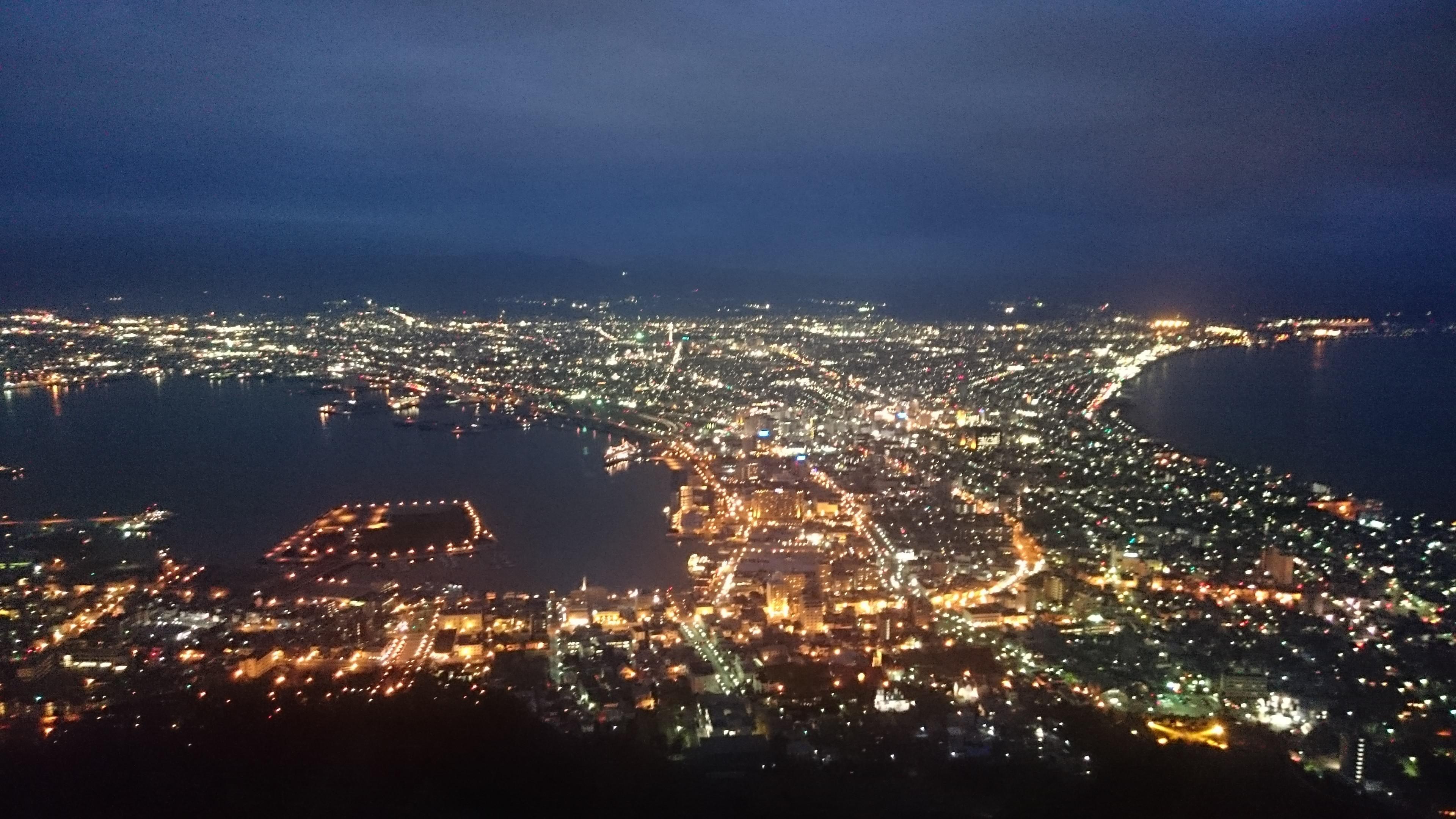 Hokkaido travel>゜)))彡 1日目 名古屋→函館編