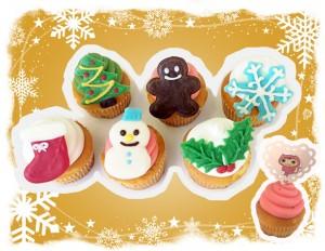 【参加者募集】おみやげ付き♪ アイシングクッキーやデコケーキで一味違うXmasに
