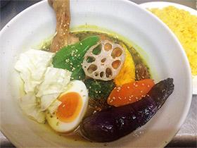 スパイシーなスープで温まる 「スープカレーSyukur」