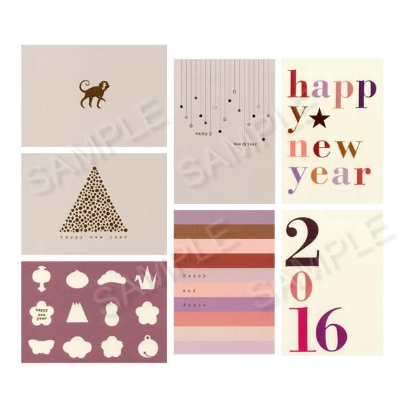 クリスマス、新年挨拶にも♪ポストカードってこんなに素敵!