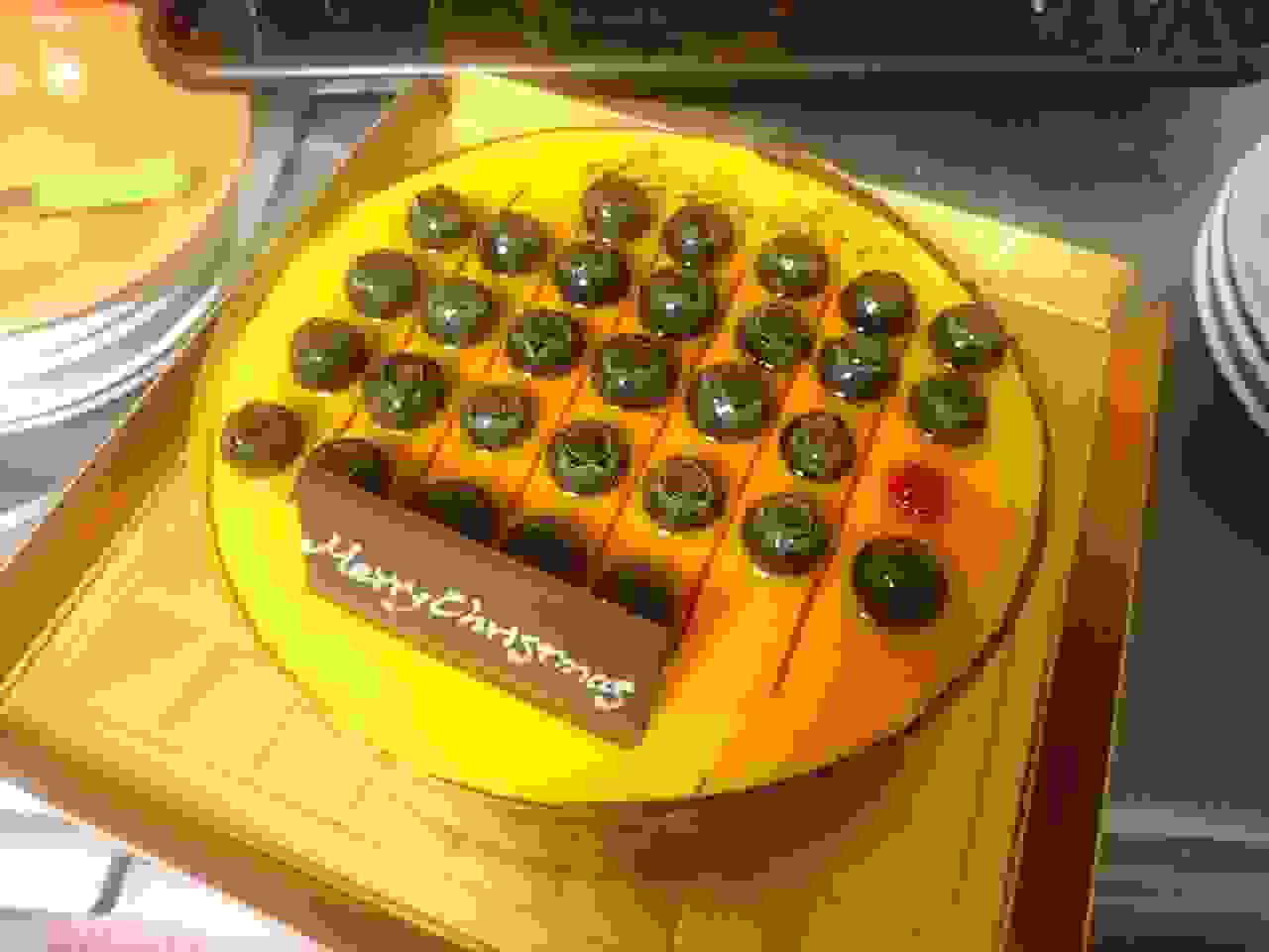 イベント日にぴったり☆カレンダーのケーキ!