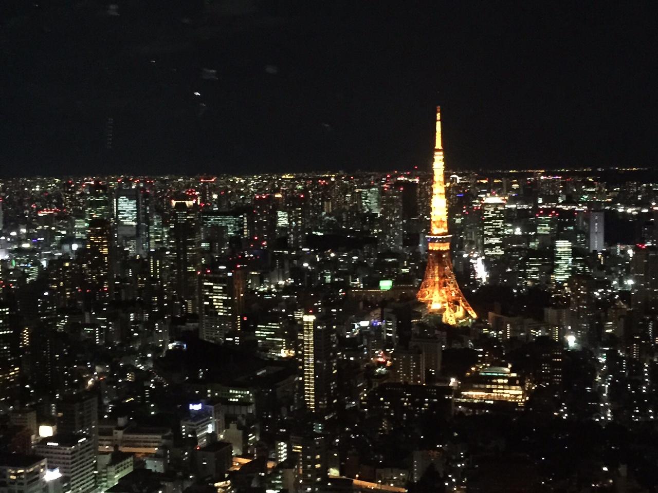 六本木ヒルズ森タワー52階 最高のロケーションで超激安のフレンチ料理!