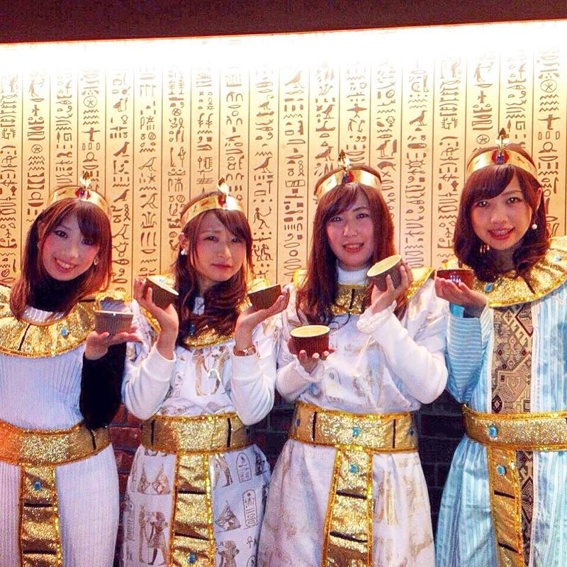 【愛知初!!】ハラル認定*エジプト料理(コスプレ衣装有♡)