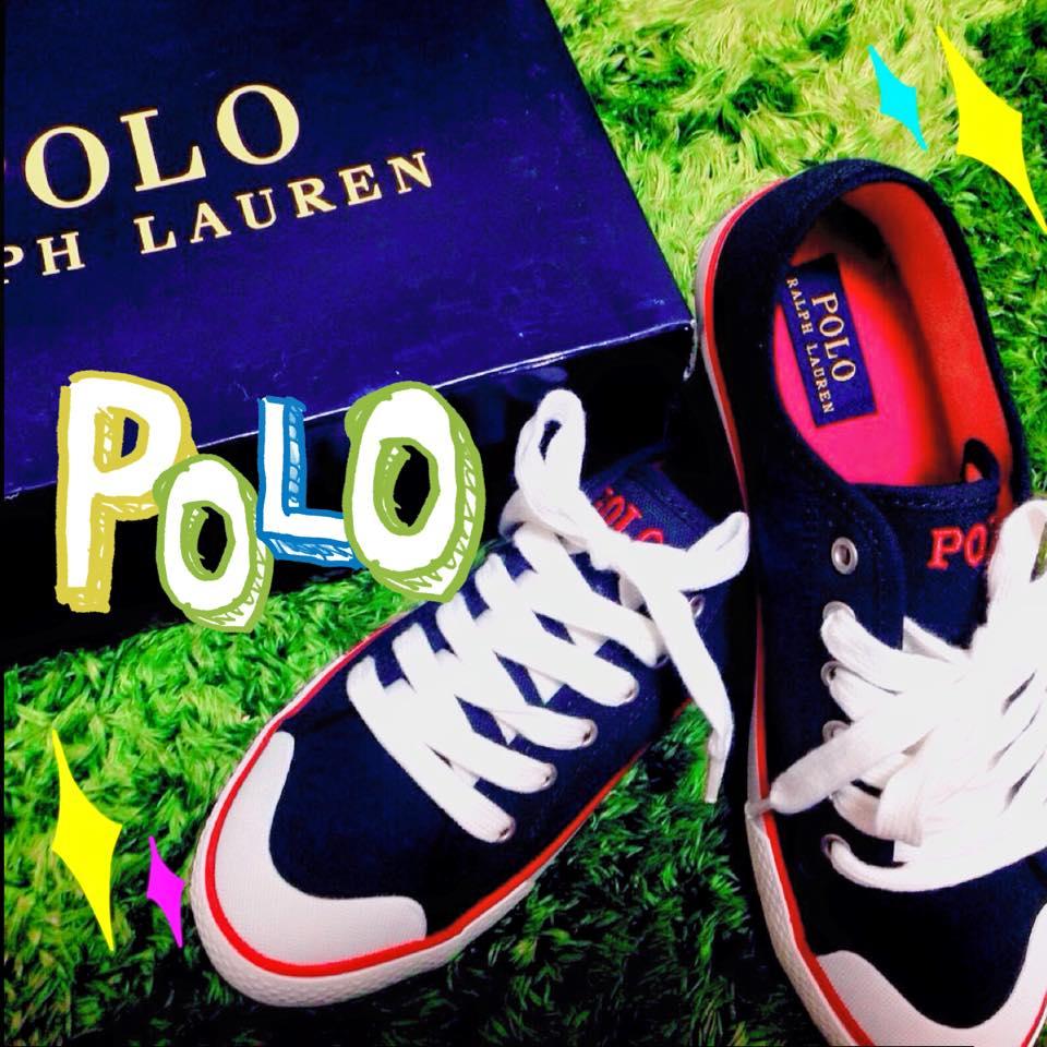 【スニーカー】ポロ・ラルフローレンで大人可愛い足元を演出♥